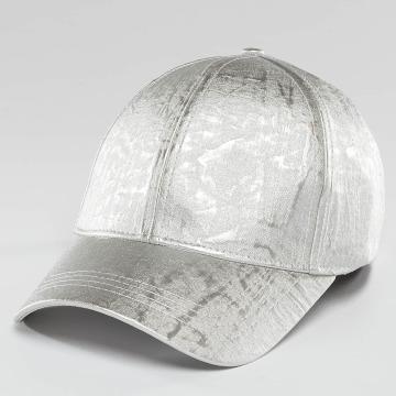Bangastic Snapback Cap Shiny silver colored