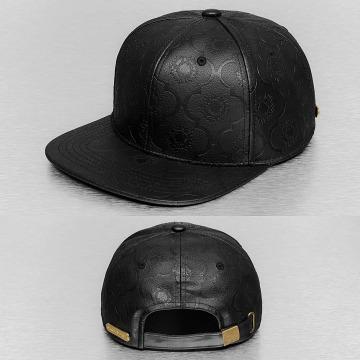 Bangastic snapback cap PU zwart