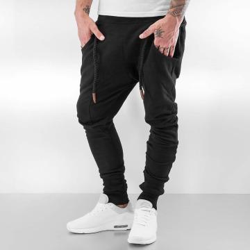Bangastic Spodnie do joggingu Thick Drawstring czarny
