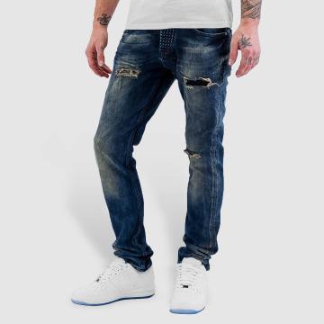 Bangastic Straight fit jeans Widow blauw
