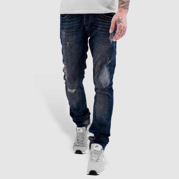 Bangastic Straight fit jeans Lightning blauw
