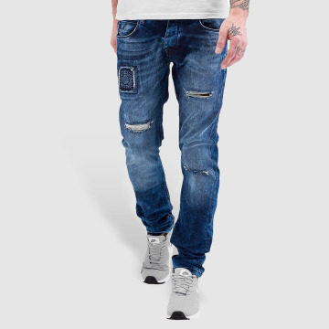 Bangastic Straight Fit Jeans Kush blue