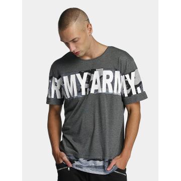 Bangastic t-shirt Army grijs