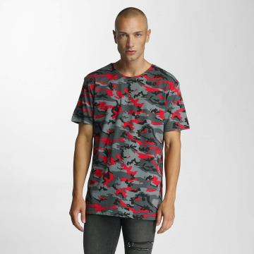 Bangastic T-Shirty Camo czerwony