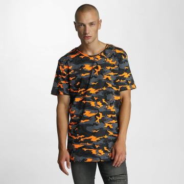 Bangastic T-Shirty Camo pomaranczowy