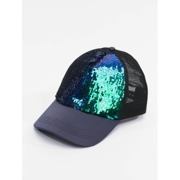 Bangastic Trucker Cap Glam blue