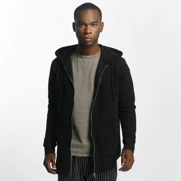 Bangastic Zip Hoodie Striped black