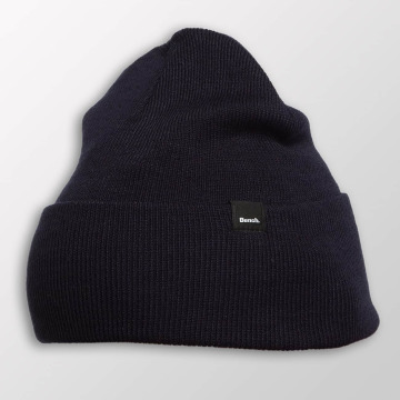 Bench Beanie Core Turn Up blau