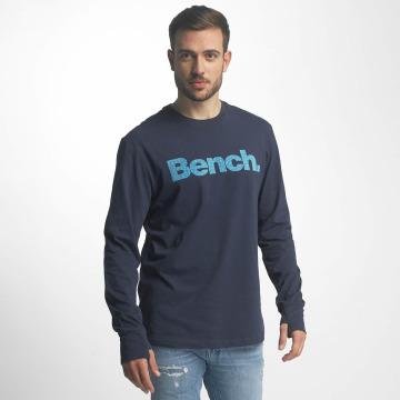 Bench Longsleeve Logo blau