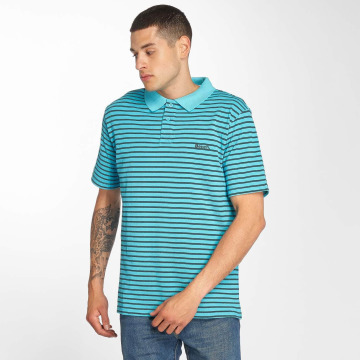 Bench poloshirt Y/D Stripe turquois