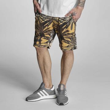 Bench shorts Aop Palm zwart