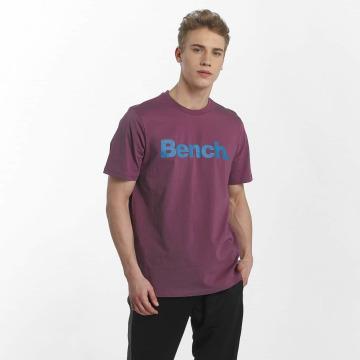 Bench T-paidat Basic Crop purpuranpunainen