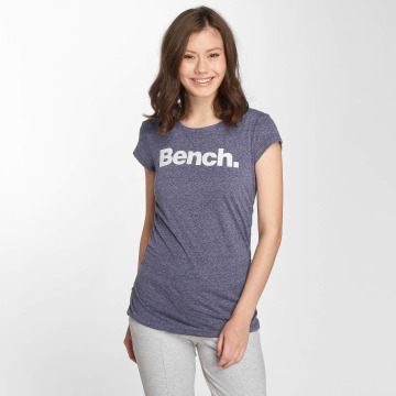 Bench T-Shirt Logo blau
