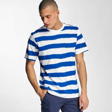 Bench t-shirt Handpainted Stripe blauw