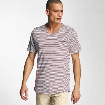 Bench T-Shirt V Neck red