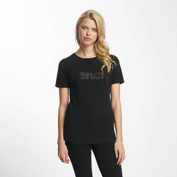 Bench T-Shirt Core Logo schwarz