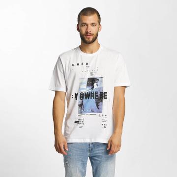 Bench T-Shirt Photoprint Graphic weiß