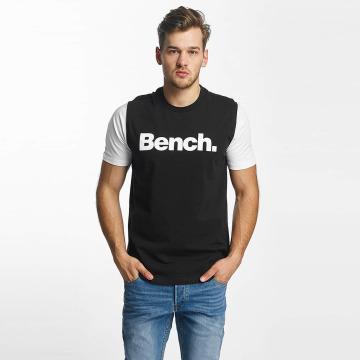 Bench T-Shirty Logo czarny