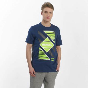 Bench T-Shirty Graphic Tee niebieski