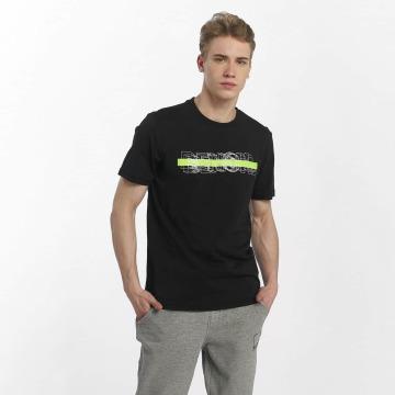 Bench T-skjorter Logo Tee svart