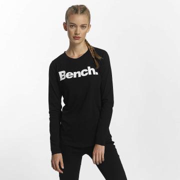 Bench Tričká dlhý rukáv Logo èierna