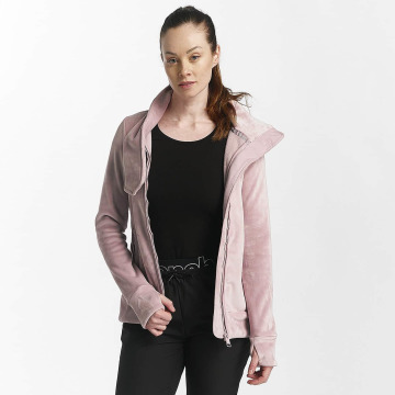 Bench Übergangsjacke Fleece Funnel rosa