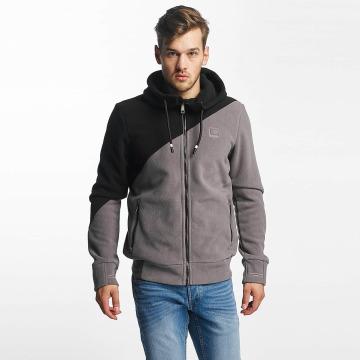 Bench Zip Hoodie Fleece grau