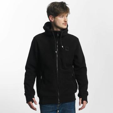 Bench Zip Hoodie Fleece svart