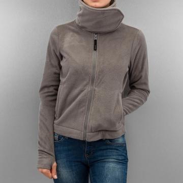 Bench Zomerjas Difference Fleece Jacket grijs