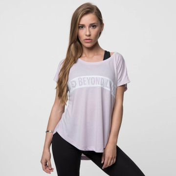 Beyond Limits T-shirt Casual ros
