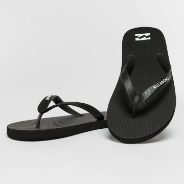 Billabong Sandals Tides Solid black