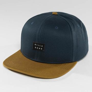 Billabong Snapback Caps Primary blå