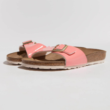 Birkenstock Claquettes & Sandales Madrid BF Patent Two Tone magenta