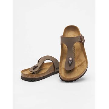 Birkenstock Sandal Gizeh BF Nubuck brun
