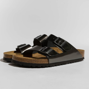 Birkenstock Sandal Arizona NL SFB Metallic grå