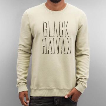 Black Kaviar Pullover Kalti beige