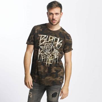 Black Kaviar T-shirt Rundrun mimetico