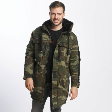 Black Kaviar Winterjacke Rayban camouflage