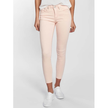 Blend She Skinny Jeans Bright Jazy Crop rosa