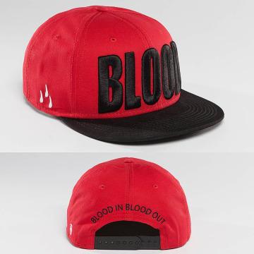 Blood In Blood Out Кепка с застёжкой Brandlogo красный