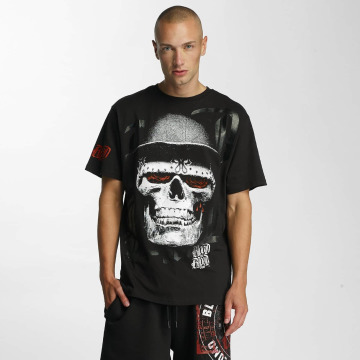Blood In Blood Out Camiseta Skull Hat negro