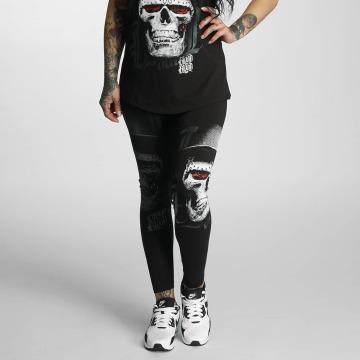 Blood In Blood Out Legging Skull Hat zwart