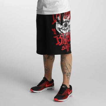 Blood In Blood Out shorts Out Harlekin zwart