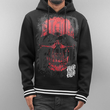 Blood In Blood Out Sweat capuche Red Calavera noir