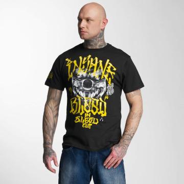 Blood In Blood Out T-shirt Yellow Harlekin nero