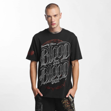 Blood In Blood Out T-Shirt Emblema schwarz