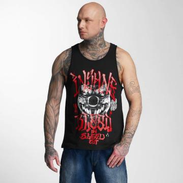 Blood In Blood Out Tank Tops Out Red Harlekin черный
