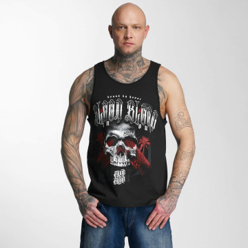 Blood In Blood Out Tanktop Blood Out Black Honor zwart