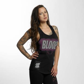 Blood In Blood Out Tanktop Clean Logo zwart