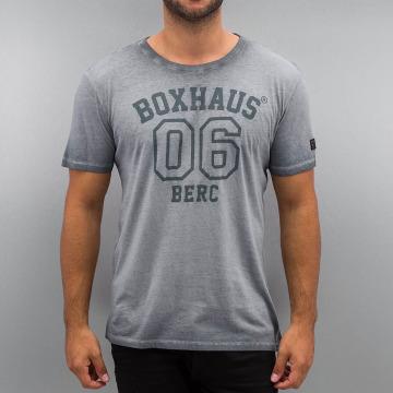 BOXHAUS Brand T-Shirt Jero gris
